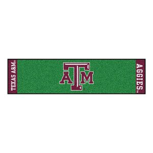 NCAA Texas A&M University Putting Green Doormat