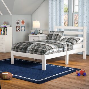 Charron Solid Twin Platform Bed by Harriet Bee Modern