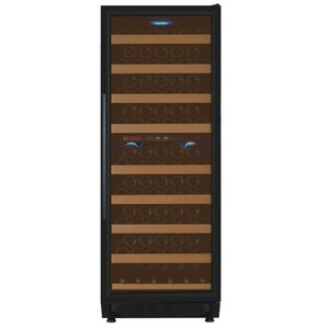 99 Bottle Vite Series Dual Zone Freestanding Wine Cooler by Allavino