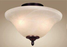Low priced 2-Light Bowl Ceiling By Fleur De Lis Living