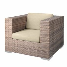 Arzo Patio Chair with Cushions