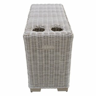 Coast Cup Wicker Side Table