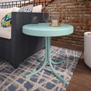 Timothea Steel Side Table