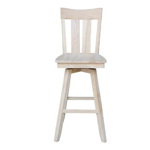 Dover 30 Swivel Bar Stool August Grove