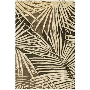 Martha Stewart Coconut/Brown Area Rug