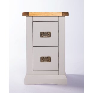 Chriopher 2 Drawer Bedside Table By Brambly Cottage