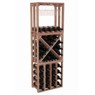 Karnes Redwood Lattice Stacking Cube 45 B..
