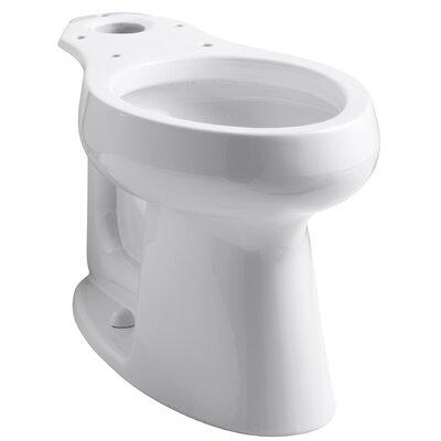 Highline 1.0 GPF Elongated Toilet Bowl Kohler Finish: White