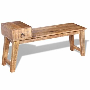 Colt Wood Storage Bench By Union Rustic