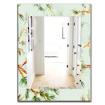 August Grove Tussey Running Bunny Accent Wall Mirror Reviews