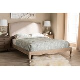 Hernandes Tufted Solid Wood and Upholstered Low Profile Platform Bed by Ophelia & Co.