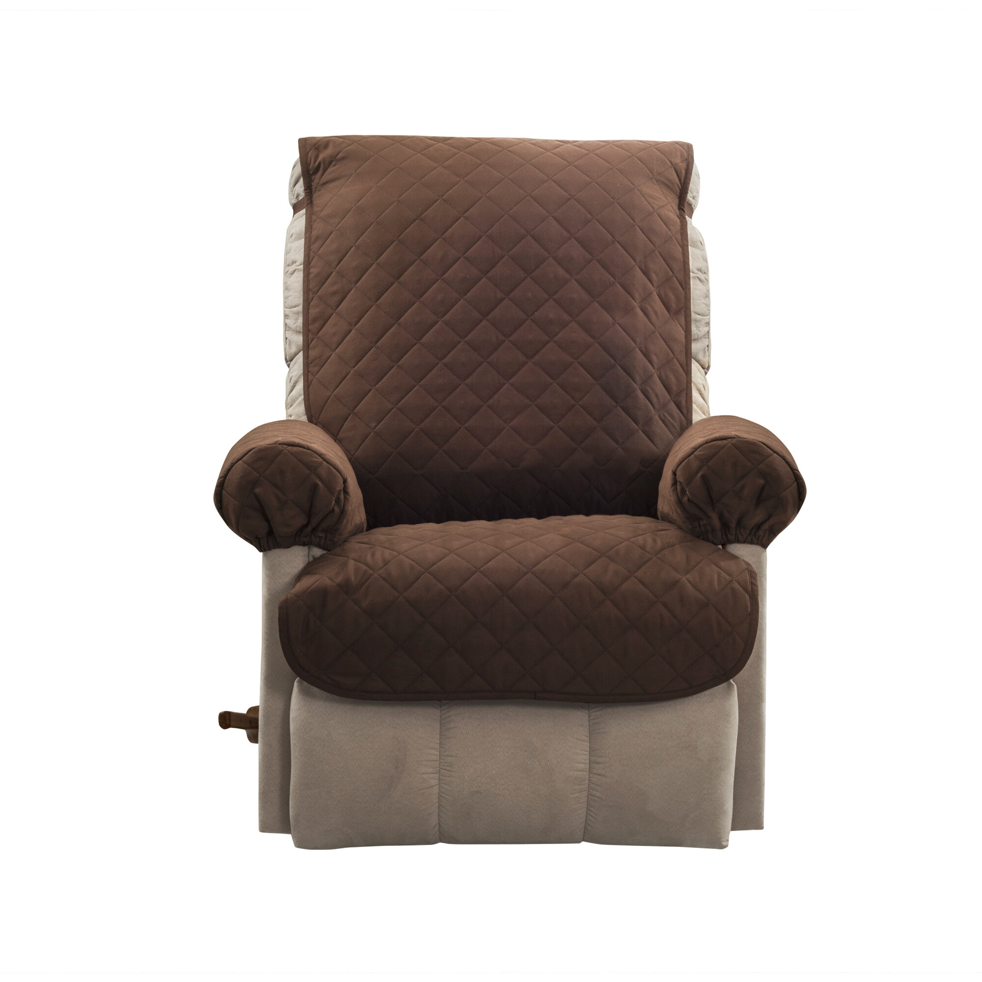 Rebrilliant Box Cushion Recliner Slipcover Reviews Wayfair