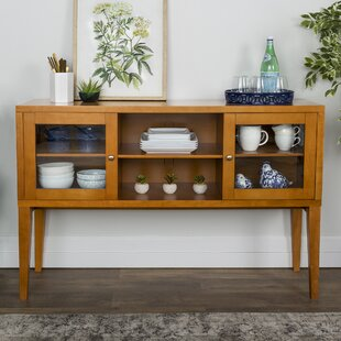 Harwood Wood Buffet Table