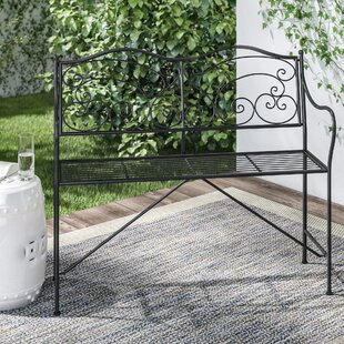 Vesuv Metal Bench By Marlow Home Co.