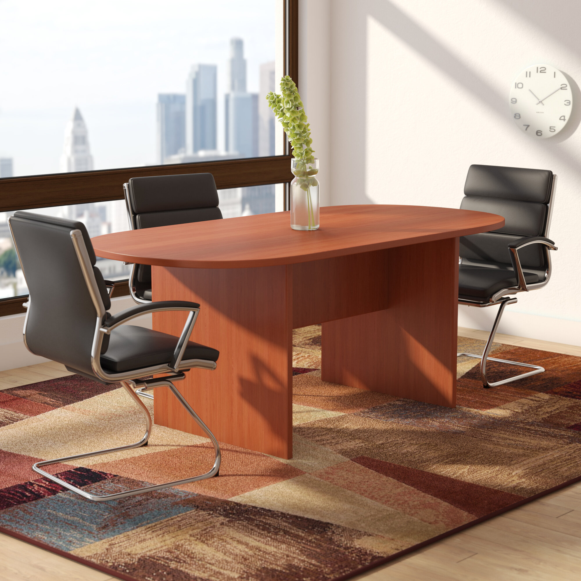 Winston Porter Cheryl Oval Conference Table U0026 Reviews | Wayfair