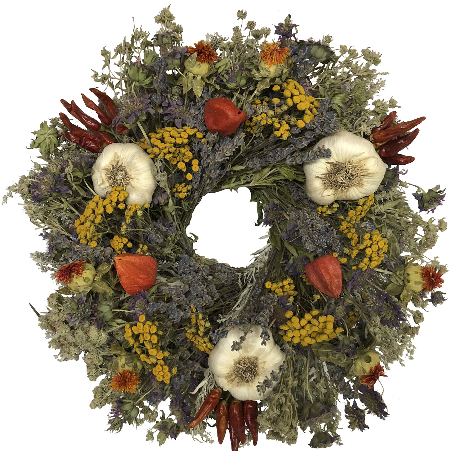 Herbal Delight 15 Wreath Birch Lane