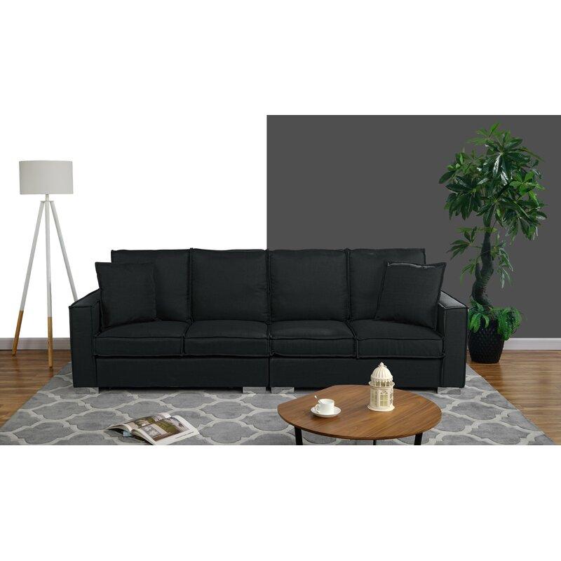 Hubert Modern Low Frame Sofa