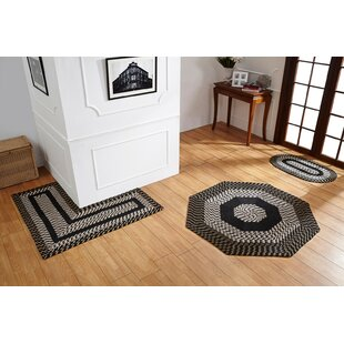 Samara Black/White Indoor/Outdoor Area Rug