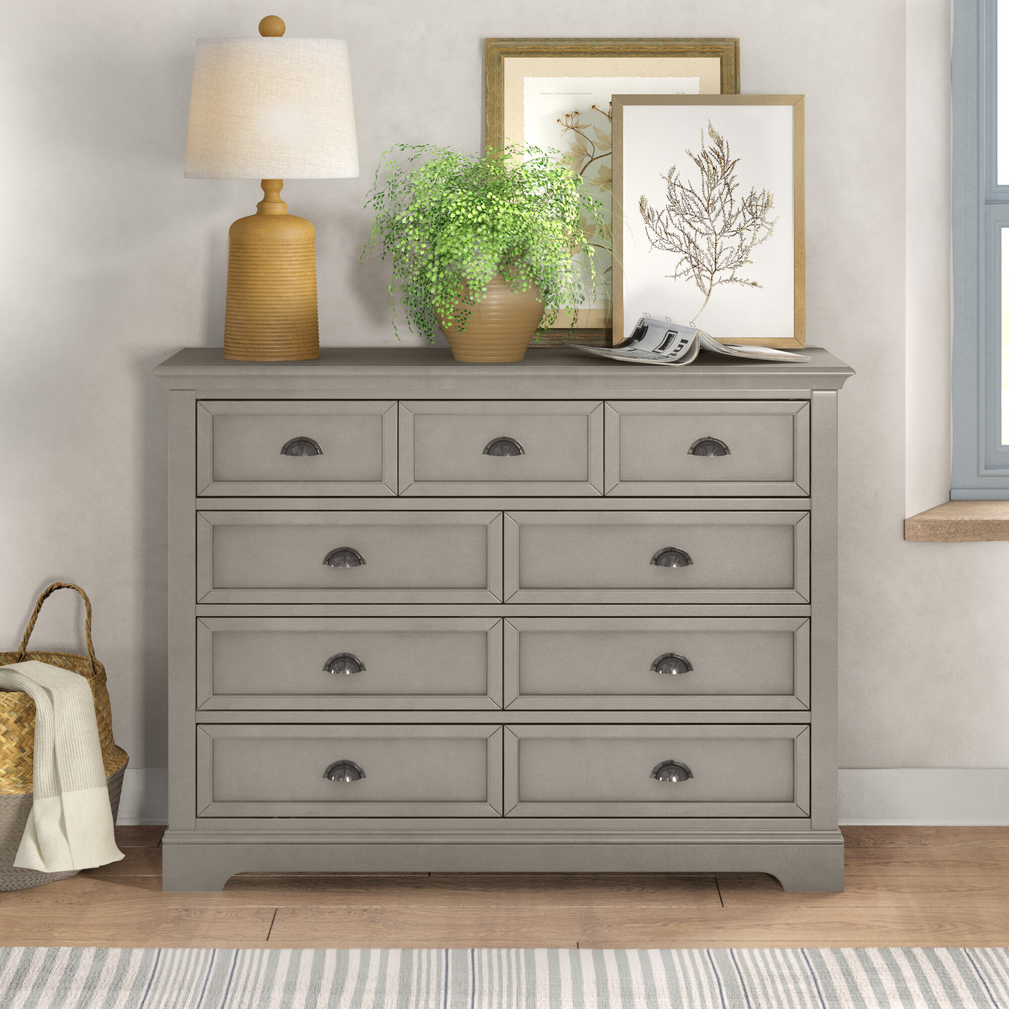 Waltham 9 Drawer Double Dresser Reviews