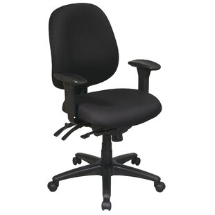 Office Star Products Work Smart Mid-Back Desk Chair