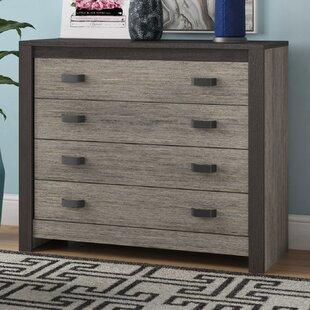 Salerna 4 Drawer Sideboard