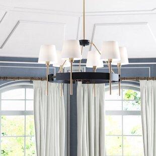 Willa Arlo Interiors Brinsley 6-Light Shaded Chandelier