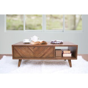 Bland Coffee Table with Storage by Union Rustic