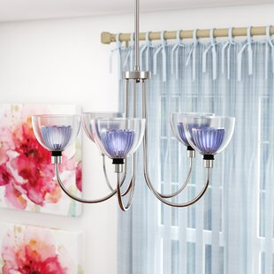 Shop For Brandt 5-Light Shaded Chandelier By Ebern Designs