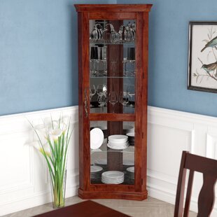 Nannie Lighted Curio Cabinet