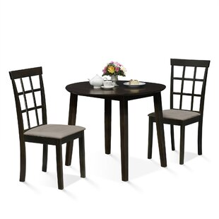 Brzuchalski Drop Leaf 3 Piece Dining Set