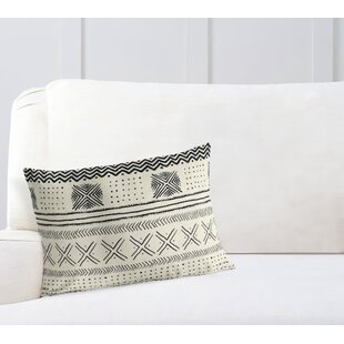 Adeline Geometric Rectangular Cotton Lumbar Pillow