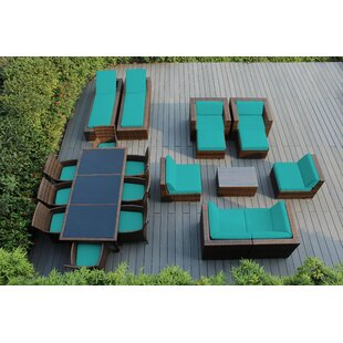 Baty 20 Piece Complete Patio Set with SUNBRELLA Cushions
