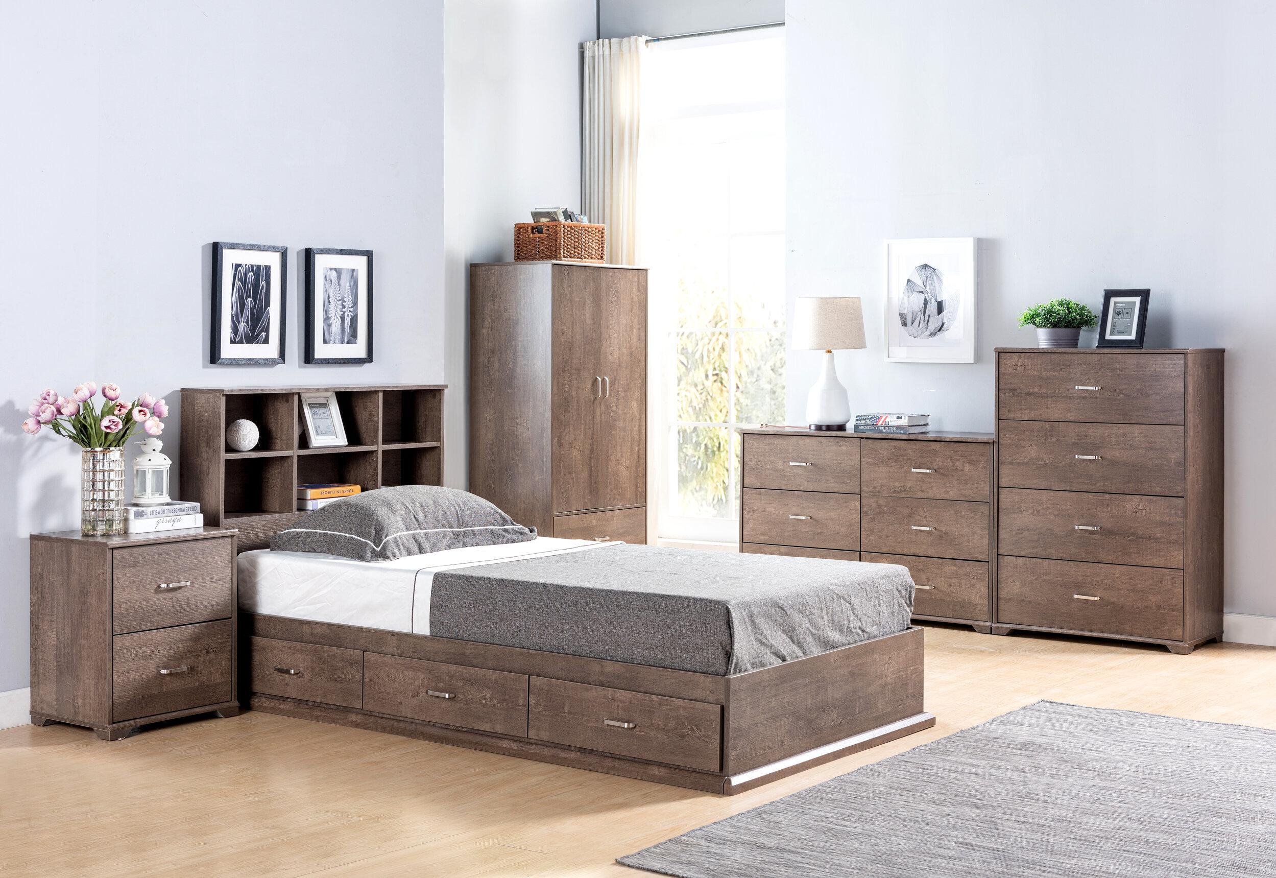 Kidwell Platform Configurable Bedroom Set