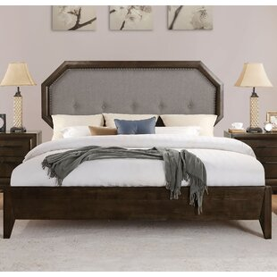 Baver Upholstered Panel Bed by Canora Grey Best