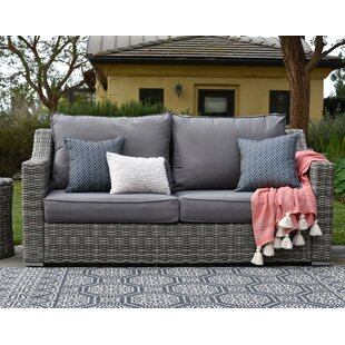 Vallauris Sofa with Cushions by Elle Decor