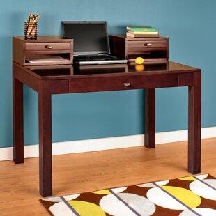 Price comparison Erskine Writing Desk with Keyboard Tray ByLatitude Run