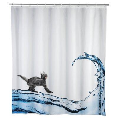 Cat Anti Mold Shower Curtain