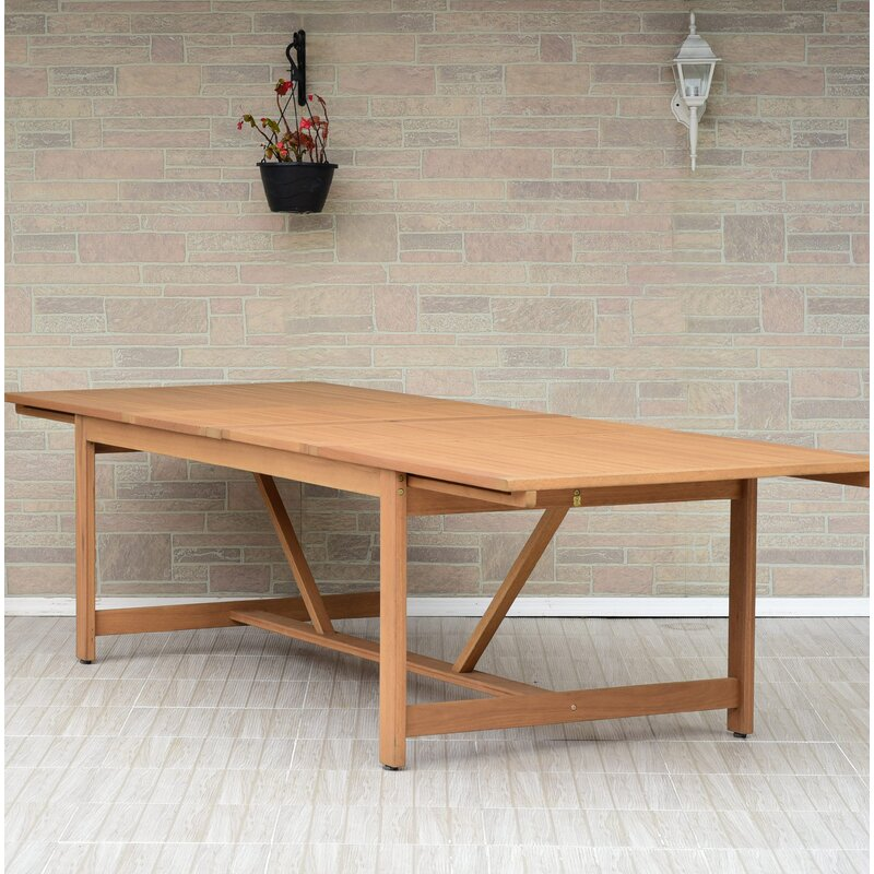 Brighton Extendable Wooden Dining Table