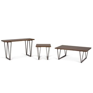 Affordable Ryder 3 Piece Coffee Table Set By Simpli Home