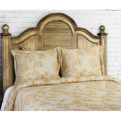 14 Karat Home Inc French Country 3 Piece Duvet Cover Set Size King Color Curry
