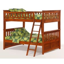 Spices Ginger Full over Full Bunk Bed by Night & Day Furniture