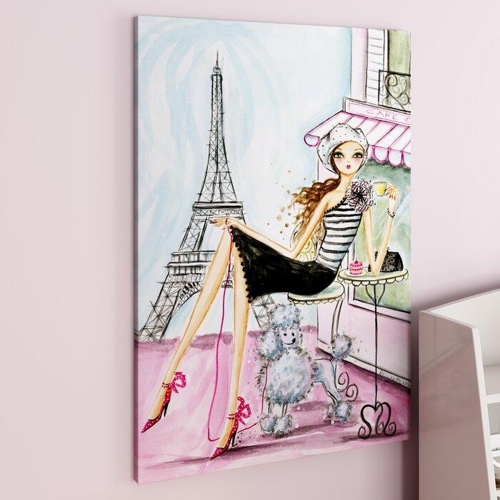 Honey world traveller paris canvas art
