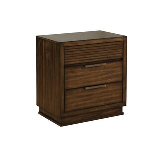 Larock 2 Drawer Nightstand by Millwood Pines