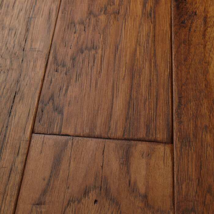 Mountain View Hickory 4 7 Thick X 5 Wide 36 Length Engineered Hardwood Flooring
