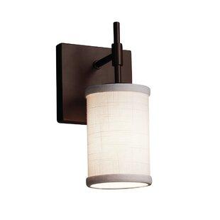 Red Hook Modern 1 Light LED Cylinder w/ Flat Rim Flush Mount by Latitude Run