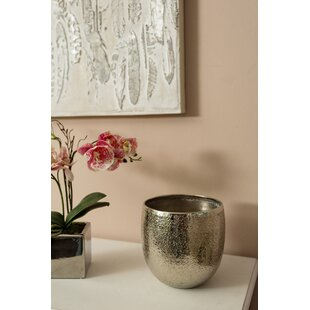 Faulkner Metal Cachepot By World Menagerie