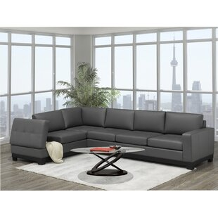 Merideth Leather Large Sectional