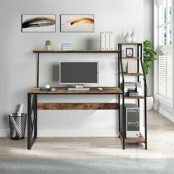 Inbox Zero Selene Desk With Hutch Wayfair