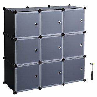 Best Price Evanoff 3-Tier Storage Organizer Cube Unit Bookcase by Rebrilliant