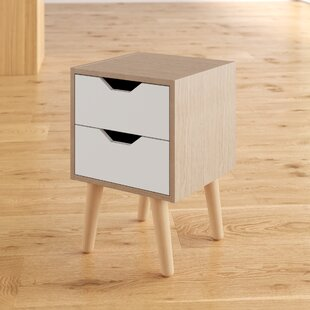 Fieldstone 2 Drawer Bedside Table